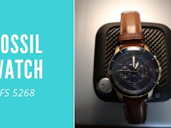 Jam Fossil FS 5268, ganteng dan stylish