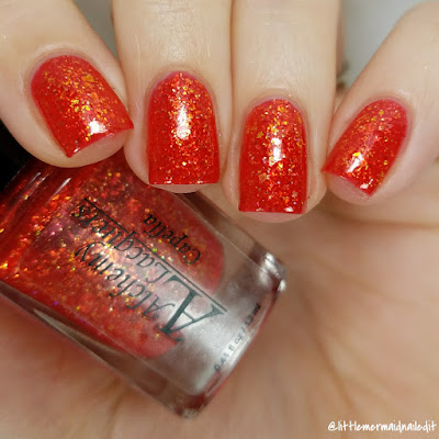 Alchemy Lacquers Star Shards Collection Capella Swatches and Review