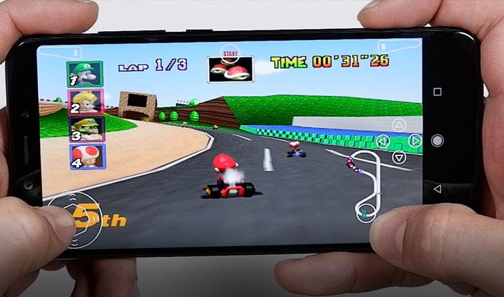 emulador de nintendo 64 para android con roms