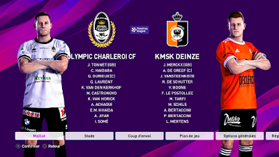 eFootball PES 2020 PS4 Option File Jupiler Pro League