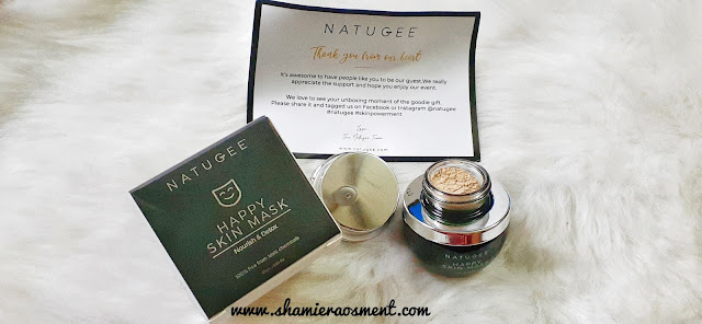 natugee, Natugee Happy Skin Mask, natugee review,