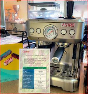 Máy pha cà phê espresso ASTRO