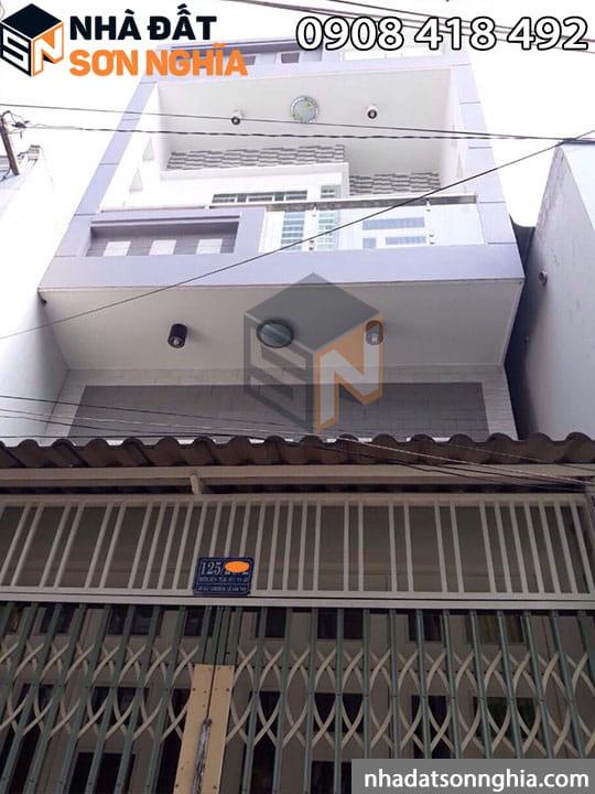 Nhà gò vấp phường 9 đúc 1 lửng 1 lầu