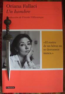 Portada del libro Un hombre, de Oriana Fallaci