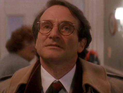 Peter Banning (Robin Williams) en Hook, el Capitán Garfio - Cine de Escritor