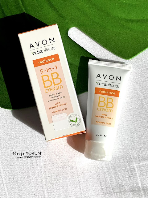 Avon nutra effects radiance 5in1 bb krem incelemesi