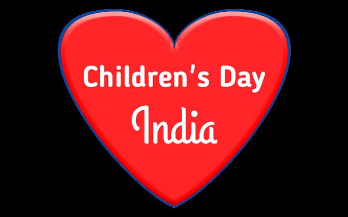 Children's Day India Celebration History Speech and Essay