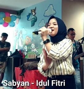 Lirik Lagu Sabyan - Idul Fitri