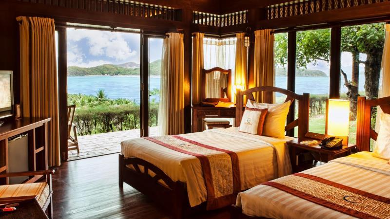 Khách sạn ở đảo Hòn Tằm