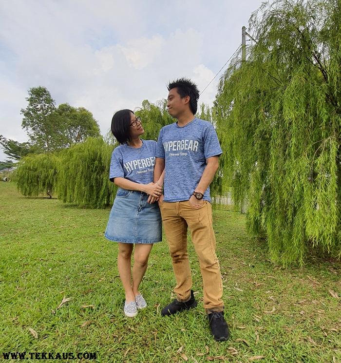 Hypergear T-Shirt Matching Couple