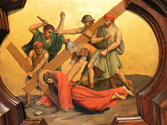Seventh Station: Jesus Falls the Second Time