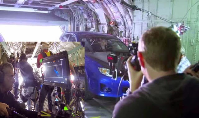 The Making of Skydriving Scenes From Fast and Furious 7 is not CGI Effects but Real