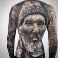 5 popular old man face tattoo designs by 2020