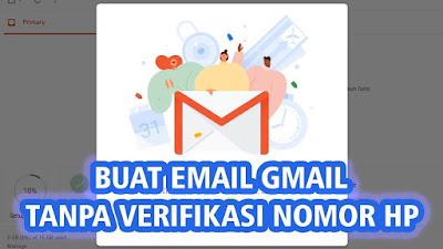 Cara Mudah Membuat Akun Gmail Baru Tanpa No HP