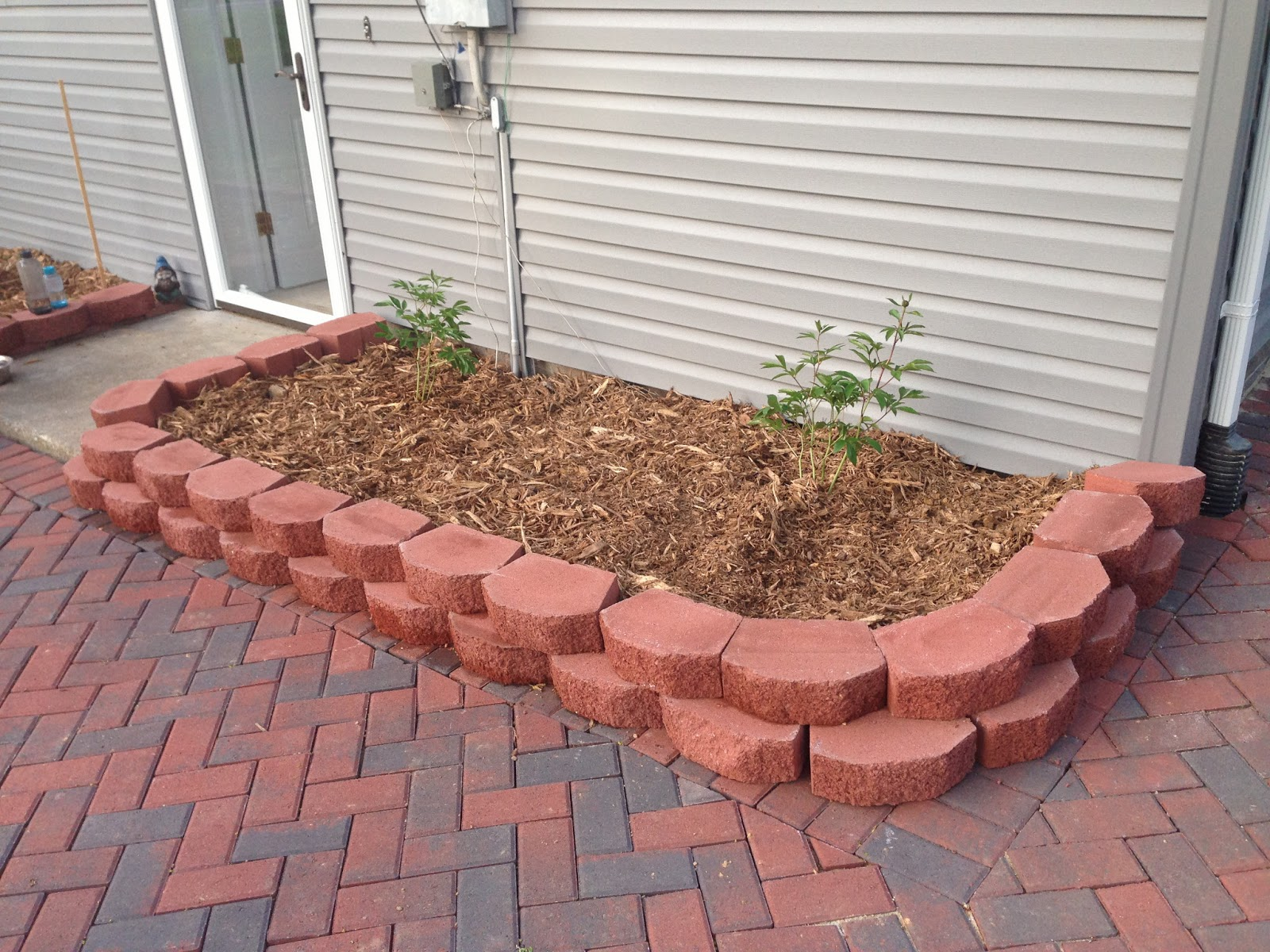 Newlywed Nesters DIY Paver Patio