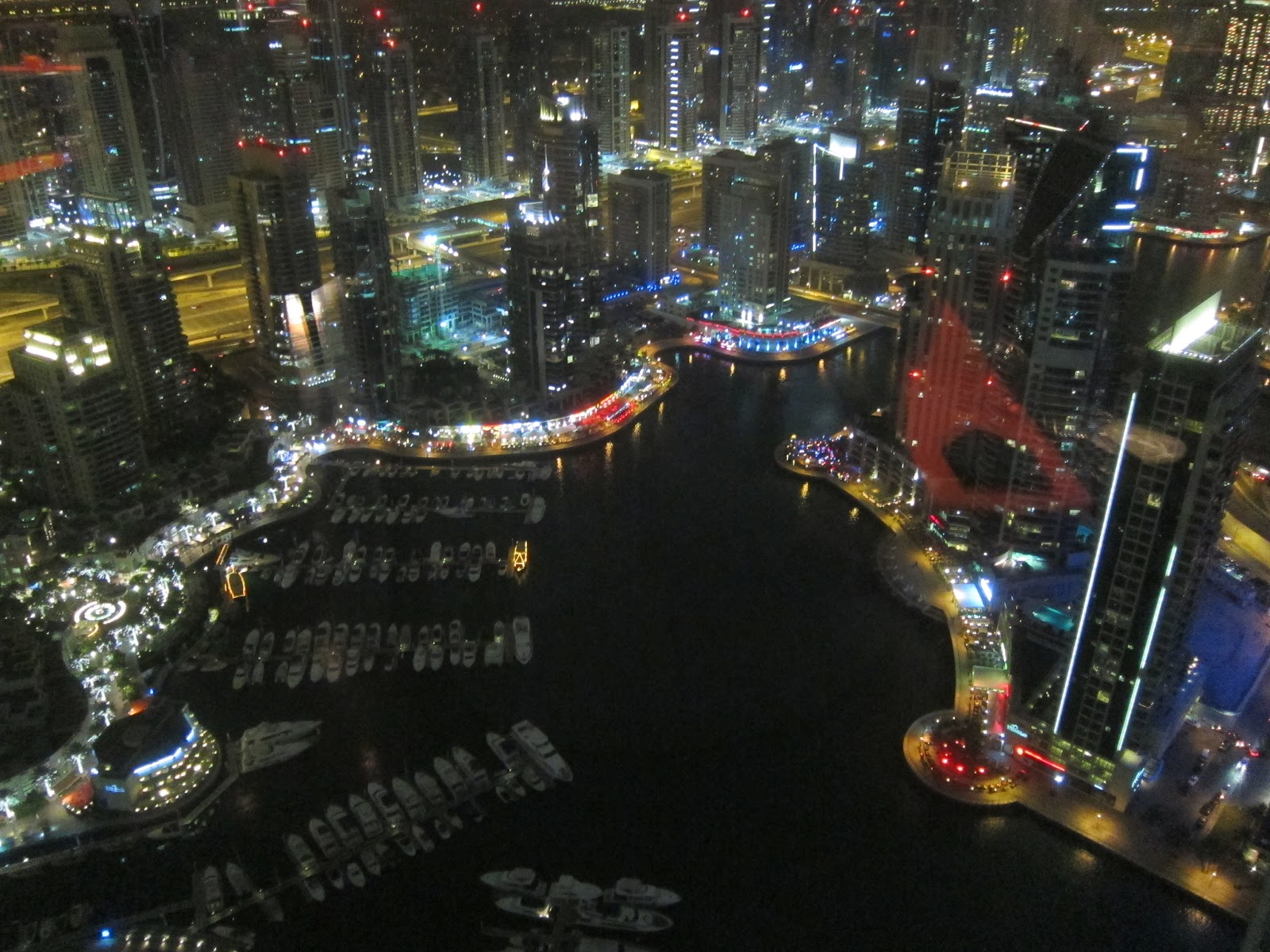The Observatory sky bar Marriott Harbour Hotel Dubai Marina