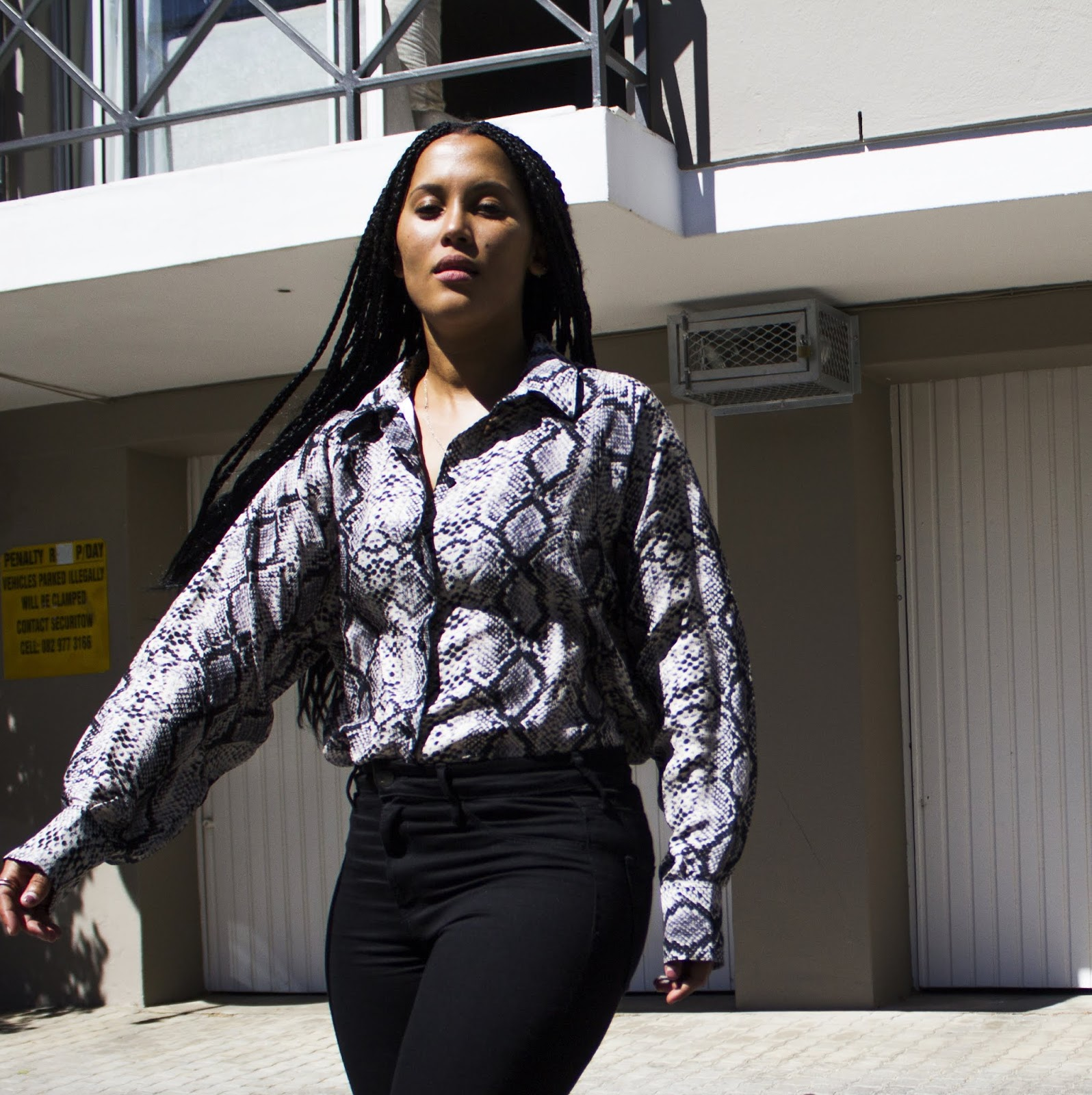 Liezel-Esquire-how-to-wear-snakeskin-blouse