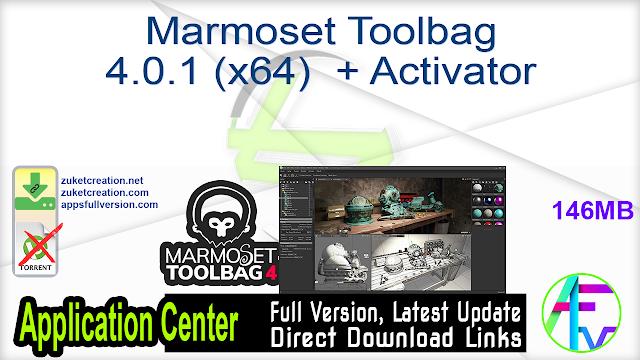 Marmoset Toolbag 4.0.1 (x64)  + Activator