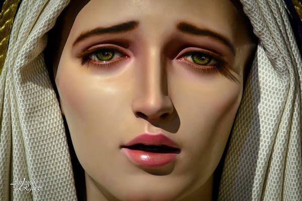 María Santísima de la Salud nueva obra de Ana Rey para las Cabezas de San Juan