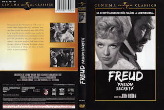 Carátula: Freud, pasión secreta (1962) (Freud)