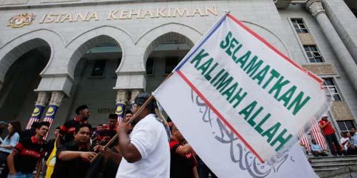 Umat Non-Muslim di Malaysia dilarang gunakan kata Allah