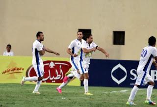 مباراة سموحة والمقاولون العرب