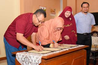 Gubernur Teken MoU dengan Institut Agama Islam Tazkia