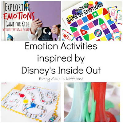 Inside Out Emotion Activities