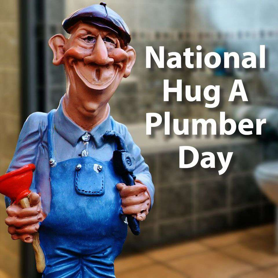 National Hug a Plumber Day Wishes for Instagram