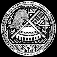Logo Gambar Lambang Simbol Negara Samoa Amerika PNG JPG ukuran 200 px