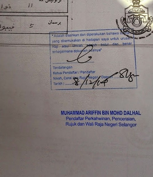 Umrah Ku Panduan Umrah Dan Ziarah Travelog 03 Pengesahan Dokumen