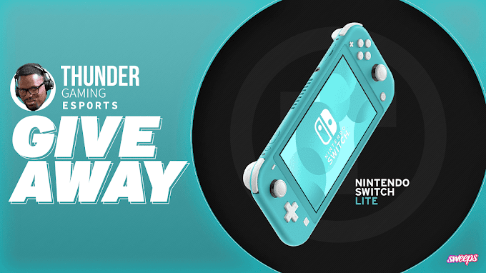 SORTEIO - Nintendo Switch Lite