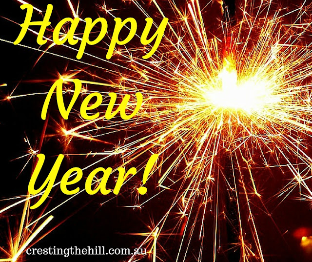 Happy New Year - and may it fulfill all the hopes it holds