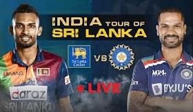 INDIA-SHRI LANKA LIVE CRICKET MATCH and SCORE UPDATES