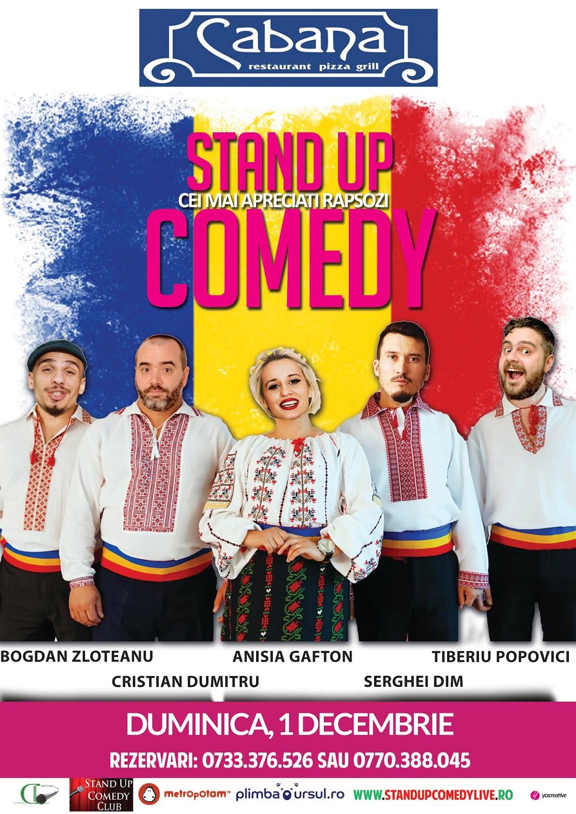 Stand-Up Comedy de 1 Decembrie Ziua Romaniei