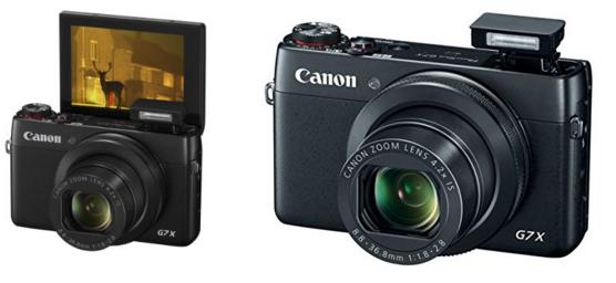 cámara para youtubers es la Canon G7 X