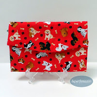 Dog Lovers Fabric Trifold Wallet