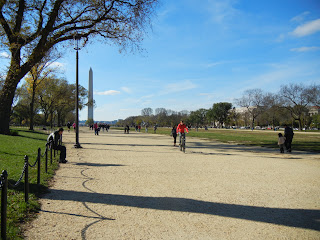 Biking on the National Mall