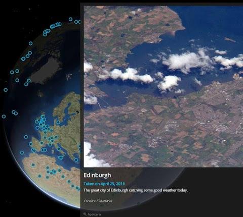 MAPA INTERACTIVO DE LA NASA: Espectaculares fotografías desde la Estación Espacial Internacional