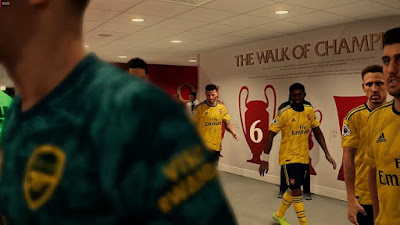 PES 2020 Stadium Anfield Road + Tunnel by Jostike Games