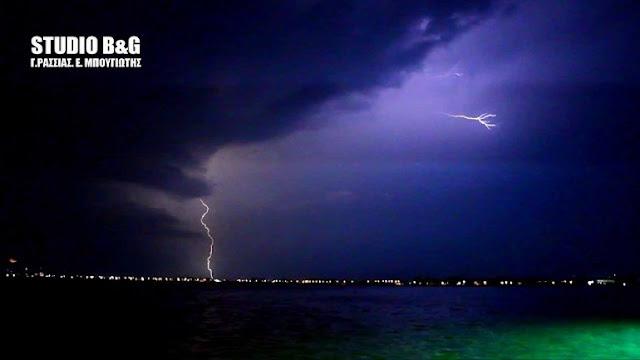 Έκτακτο δελτίο της ΕΜΥ: Έρχονται ισχυρές βροχές και καταιγίδες (πρόγνωση μέχρι και το Σαββάτο)