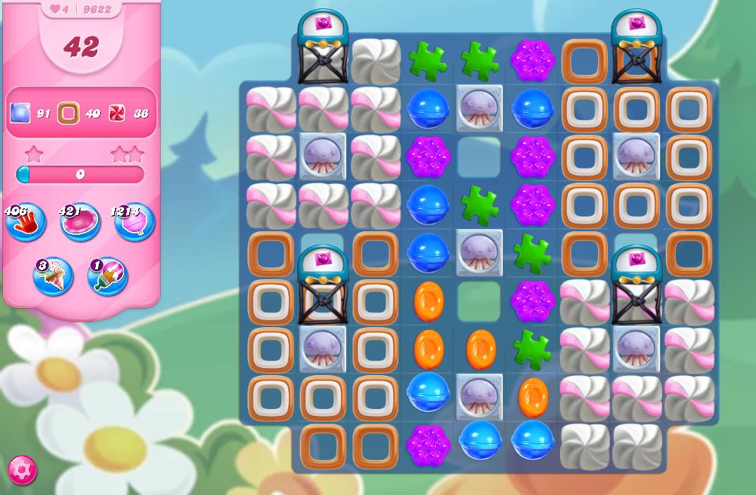 Candy Crush Saga level 9622