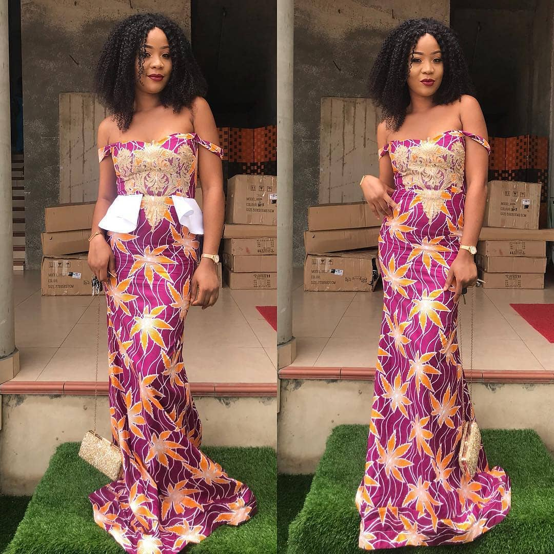 African Print Dresses 2018 : Cute And Gorgeous Styles For