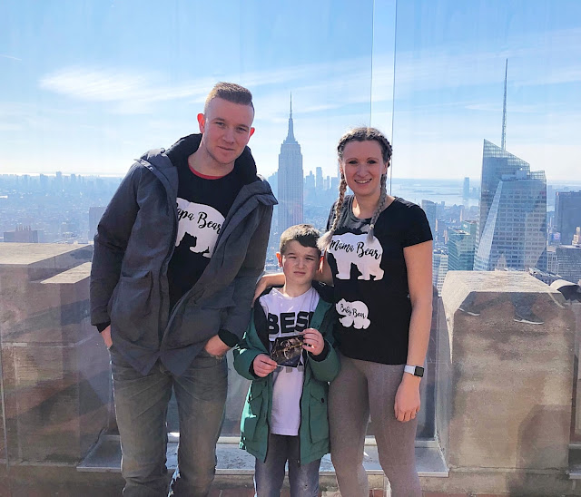 Pregnancy Announcement Top of the Rock New York