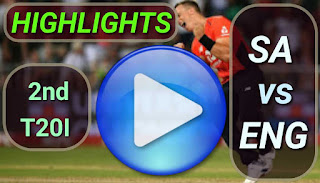 SA vs ENG 2nd T20I 2020