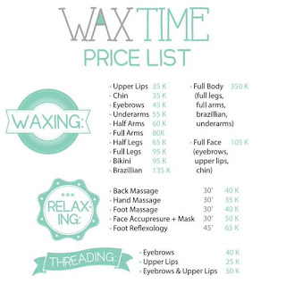 Harga Waxing di Salon Waxtime Review