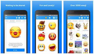 تطبيق  Elite Emoji  رموز تعبيرية مثيرة وملصقات للتعبير عن المشاعر والأفكار الجميلة في محادثاتك😍 أكثر من 2000 رمز تعبيري عالي الوضوح وملصق إمكانية ارسالها عبر الـWhatsApp أو أي تطبيق اجتماعي