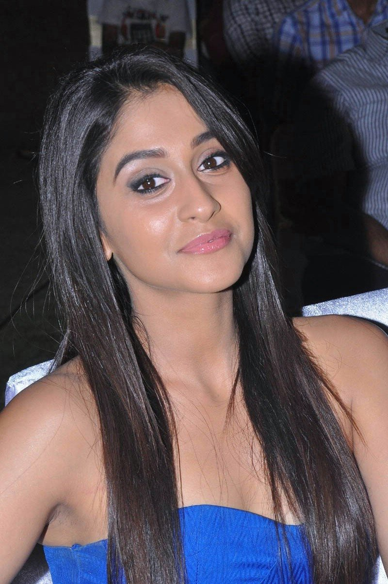 Regina Cassandra Latest Stills In Blue Dress