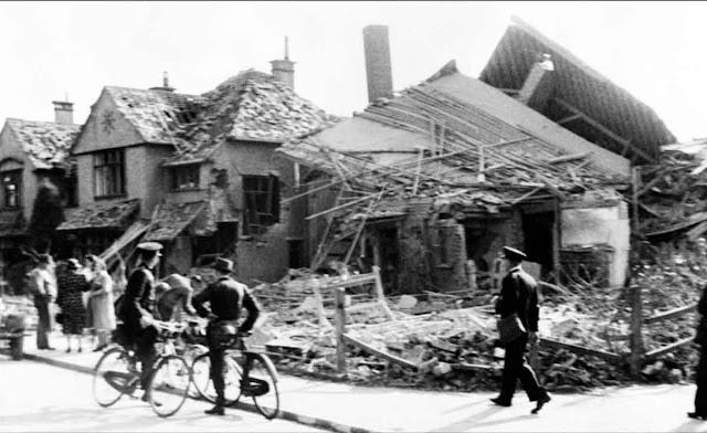 12 August 1940  worldwartwo.filminspector.com bomb damage Gosport