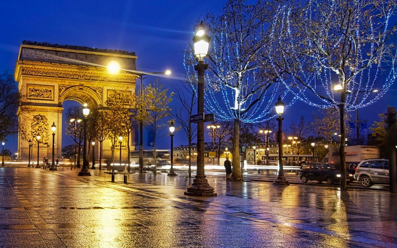 arc de triomphe paris france world travel destinations. Black Bedroom Furniture Sets. Home Design Ideas